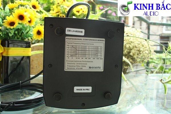 Thông số Micro đại biểu DB LH-8000B
