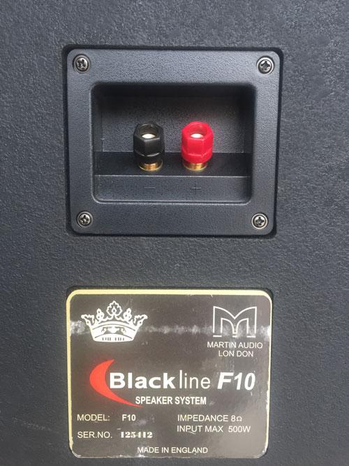 Loa martin F10 có công suất 300W
