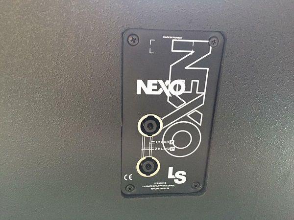 Mặt sau loa Nexo Ls1200