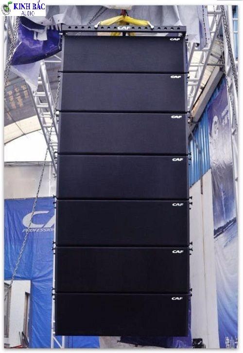 Lắp đặt loa array CAF CF-1830 cho sân khấu lớn