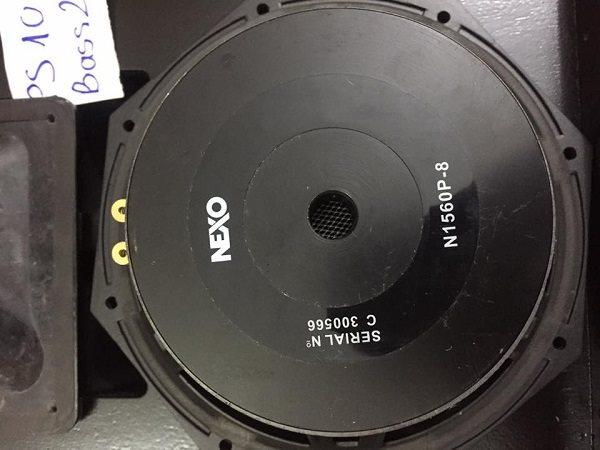 Mặt sau bass loa Nexo PS 10