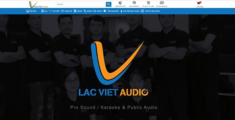Lạc Việt Audio - Đơn vị phân phối âm thanh số 1 Việt Nam