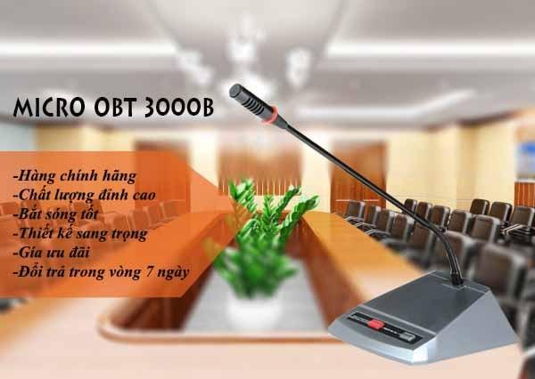 Micro đại biểu OBT-3000B chính hãng chất lượng cao