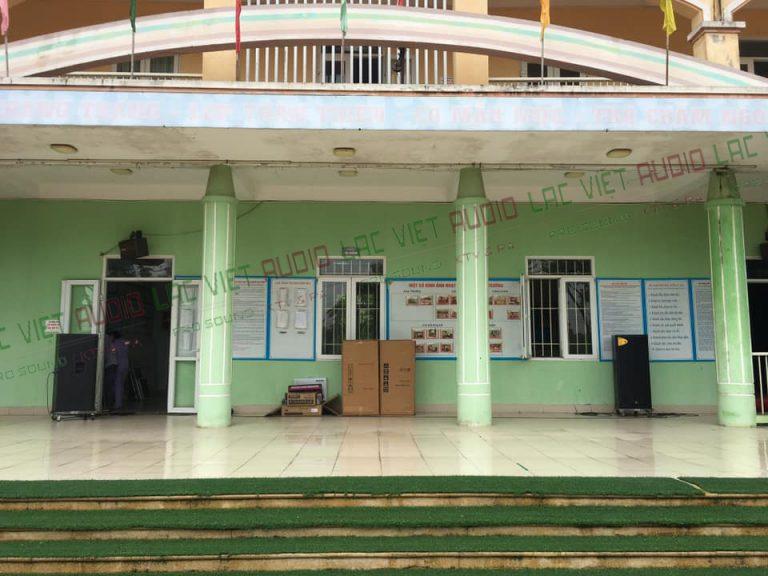 Dự án lắp đặt âm thanh trường học tại mầm non Liên Ninh B – Ngũ Hiệp, Thanh Trì, Hà Nội