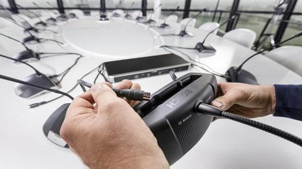 Giải pháp âm thanh hội nghị Bosch chất lượng cao, giá tốt