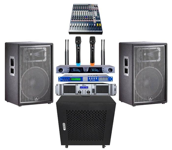 Bộ âm thanh hội trường nhỏ cho diện tích từ 50-70m2