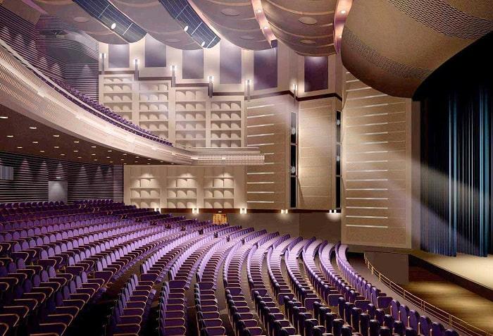 Dàn âm thanh phục vụ hội trường cho diện tích khoảng 200m2: Giá 100 triệu đồng