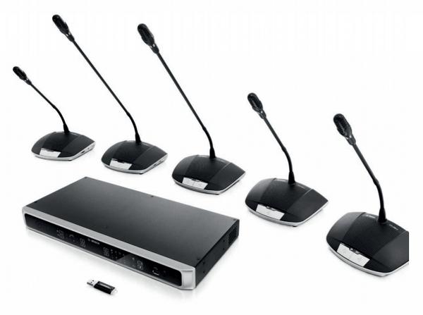 Giải pháp âm thanh hội nghị Bosch CCS-1000D