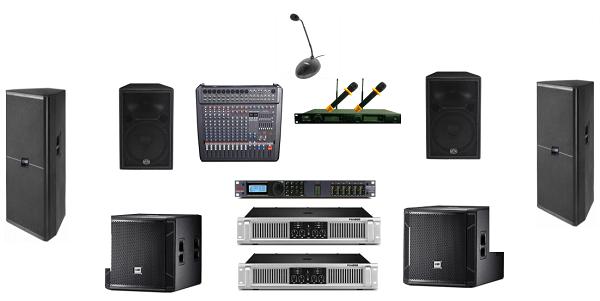 Các thiết bị âm thanh hội trường