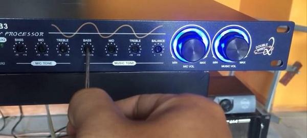 Cách chỉnh vang cơ B3 cho phần nhạc