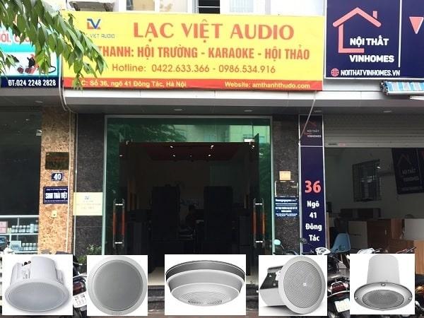 Lạc Việt Audio - Đơn vị chuyên thanh lý loa âm trần chất lượng, chuyên nghiệp
