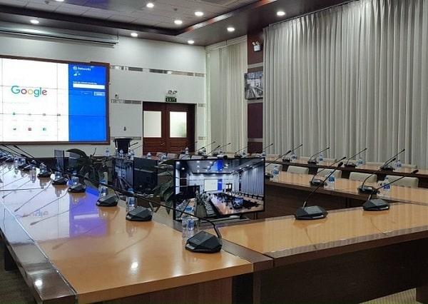 Hệ thống âm thanh hội nghị không dây Nuoxun