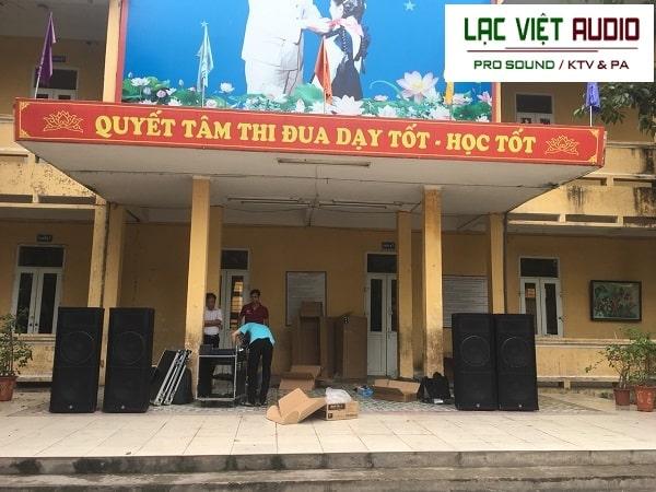 Quy trình tư vấn lắp đặt âm thanh trường học tại Lạc Việt Audio