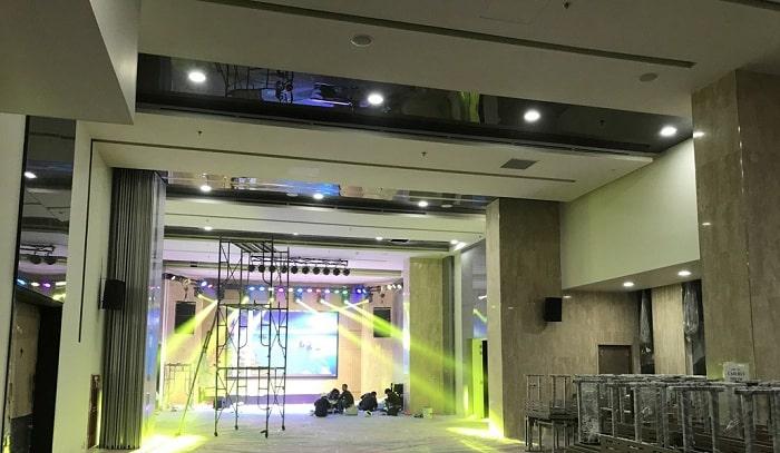 Thanh lý dàn âm thanh hội trường hãng Yamaha cho diện tích dưới 150m2
