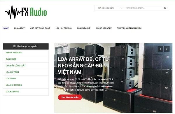 FX Audio - Đơn vị thanh lý loa âm trần tại miền Trung