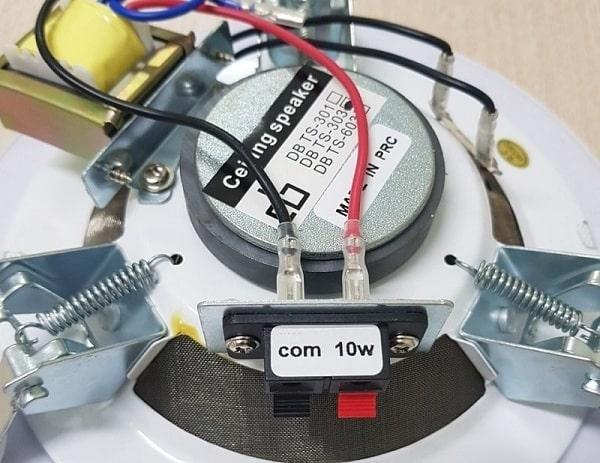 Các thông số kỹ thuật cần quan tâm khi thiết kế hệ thống loa âm trần