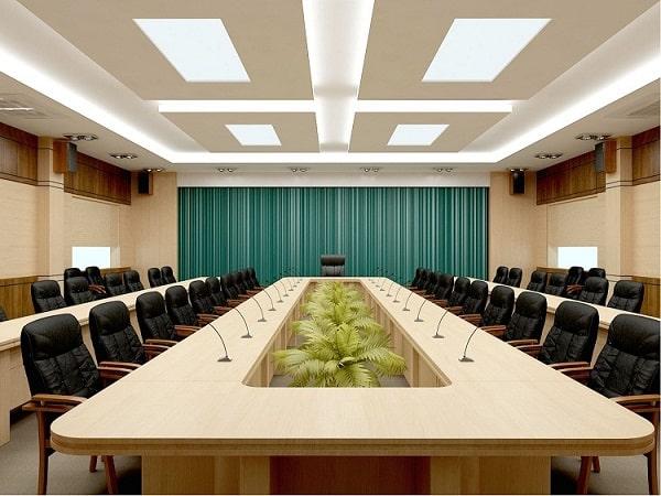 Lắp đặt âm thanh hội nghị cần đảm bảo về mặt thẩm mỹ
